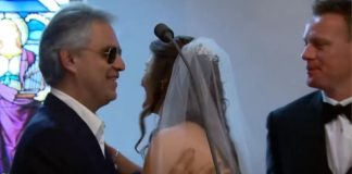 Andrea Bocelli wedding singer