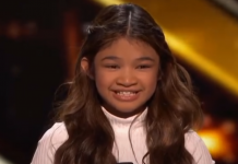 Angelica Hale earns the golden buzzer