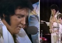Elvis Presley singing Unchained Melody