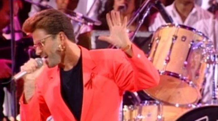 George Michael Somebody to Love Queen Freddie Mercury Tribute Concert