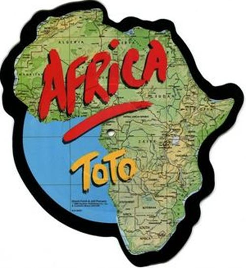 Africa by Toto album cover