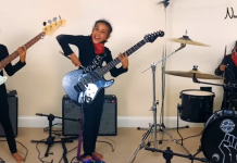 Nandi Bushell plays Cochise by Audioslave