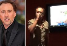 Nicolas Cage Ruins Prince Purple Rain at Karaoke bar