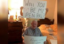 Nursing home residents seeking pen pals