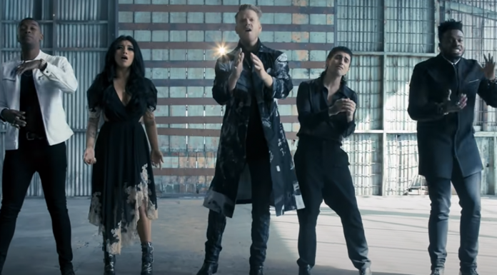 Pentatonix sound of silence simon and garfunkel