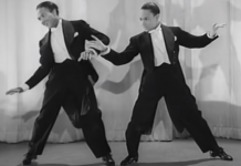 Stormy Weather Nicholas Brothers dance routine