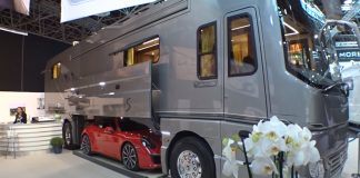 Volkner Performance Caravan Salon Luxury TV camping tiny home motor home